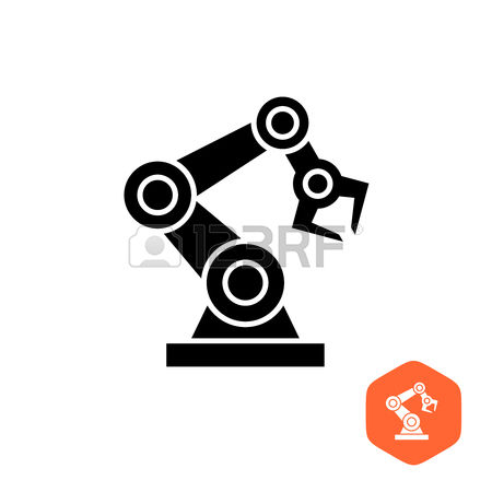 5,673 Industrial Robots Stock Vector Illustration And Royalty Free.