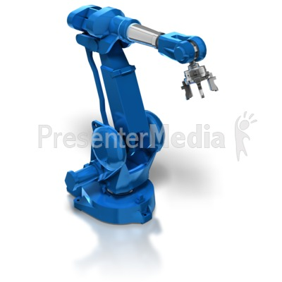 Industrial Robot Arm.