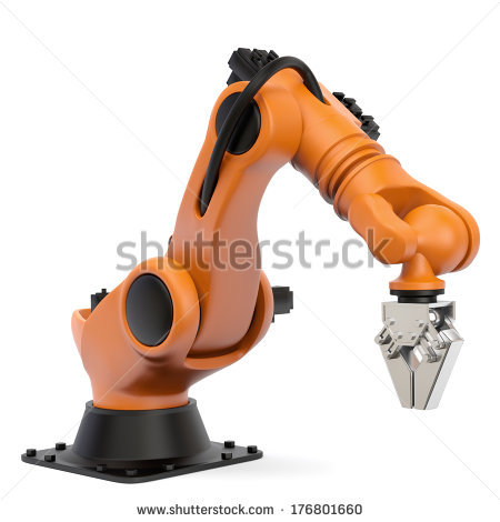 Industrial Robot Stock Images, Royalty.