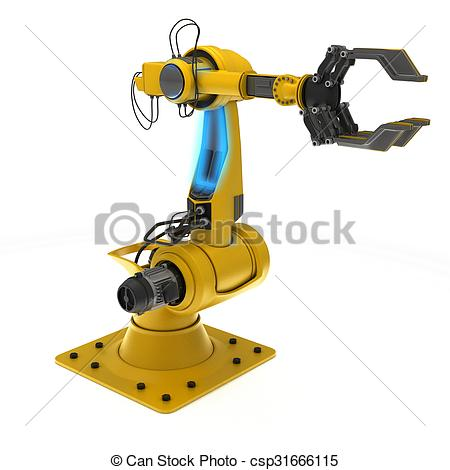 Industrial robot Clip Art and Stock Illustrations. 3,411.