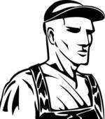 Industrial Worker Clip Art.