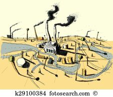 Industrial zone Clipart and Illustration. 1,493 industrial zone.