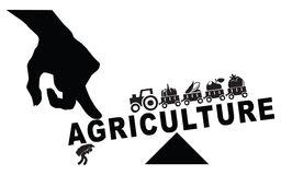 Industrialization Farm Stock Illustrations.