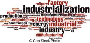 Industrialization Vector Clip Art Illustrations. 309.