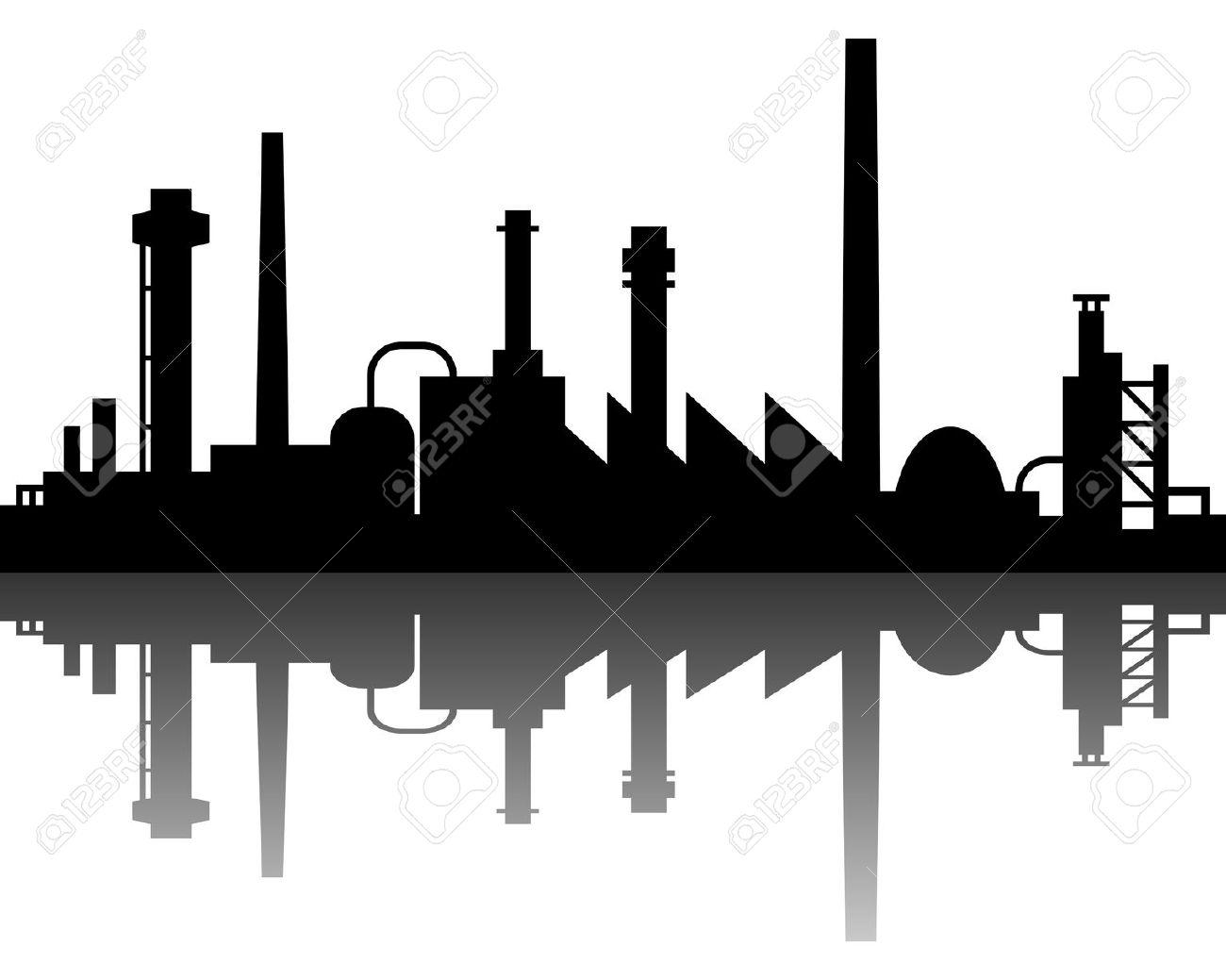 Industry clipart vector.