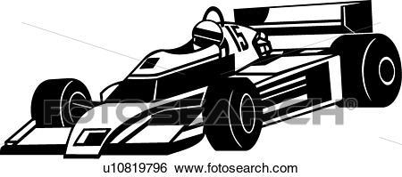 Indy Car Clip Art.
