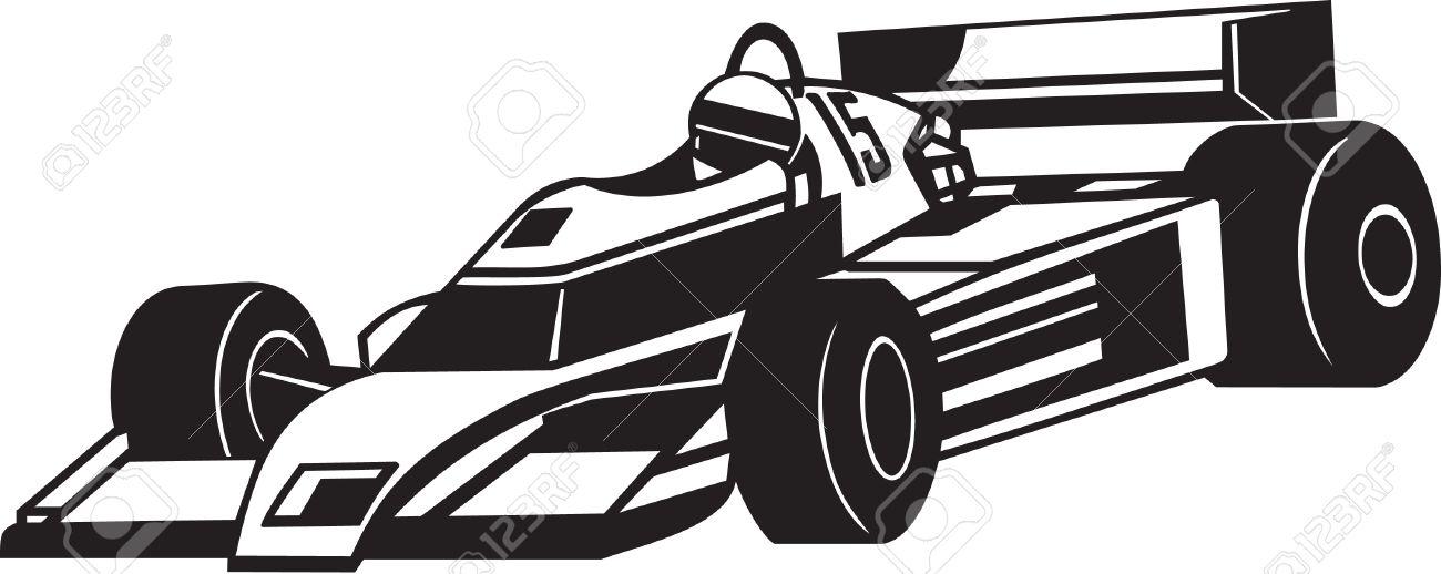 Indy Racing Car Vinyl Ready.