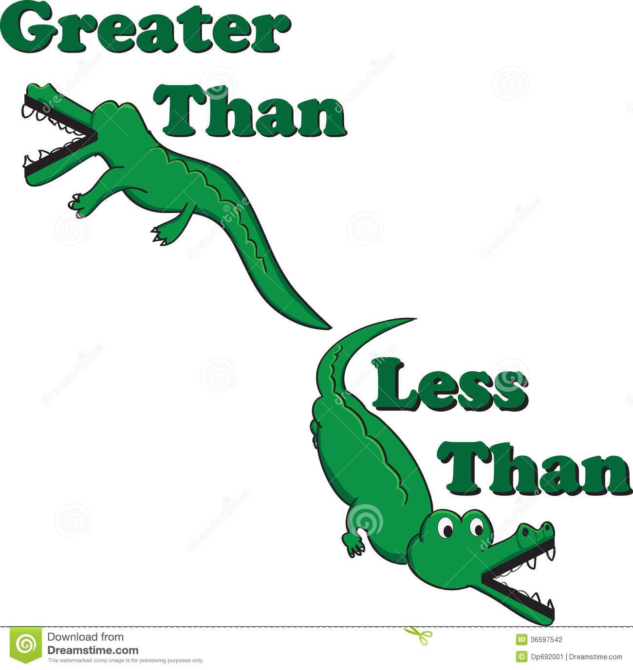Inequality Alligators Stock Photography.