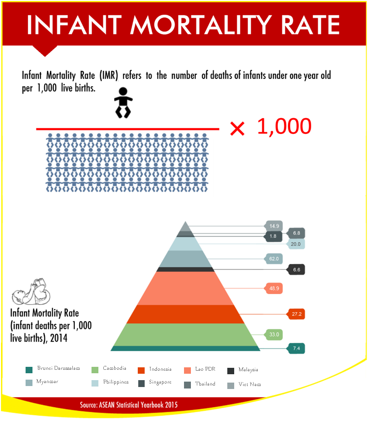 Infant Mortality Rate.