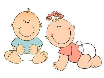 Infants and toddlers clipart 1 » Clipart Station.