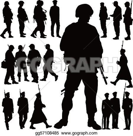 Infantry Clip Art.