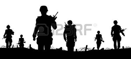 3,636 Infantry Stock Vector Illustration And Royalty Free Infantry.