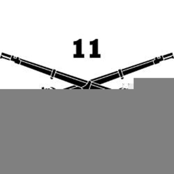 Us Army Infantry Crossed Rifles Clipart.