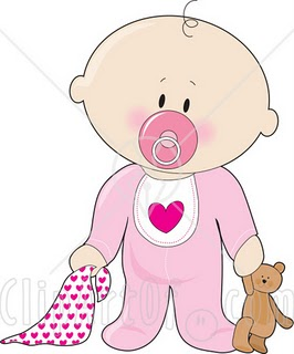 Clipart of infants and toddlers.
