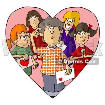 Infatuation Clipart by Dennis Cox.