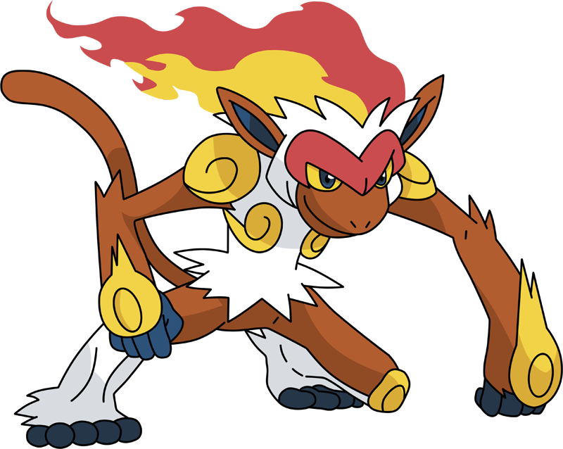 Pokemon 392 Infernape Pokedex: Evolution, Moves, Location, Stats.