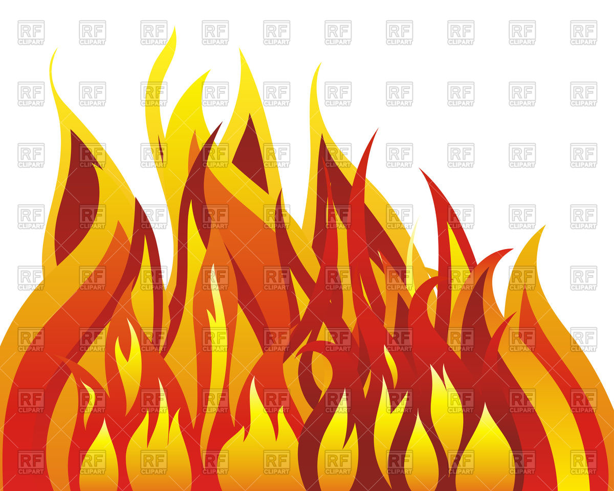 Inferno fire background Vector Image #89225.