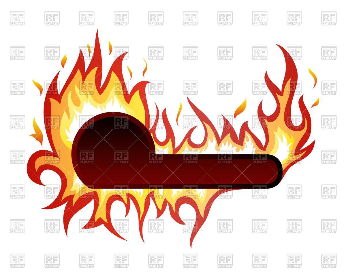 Inferno fire Vector Image #88913.