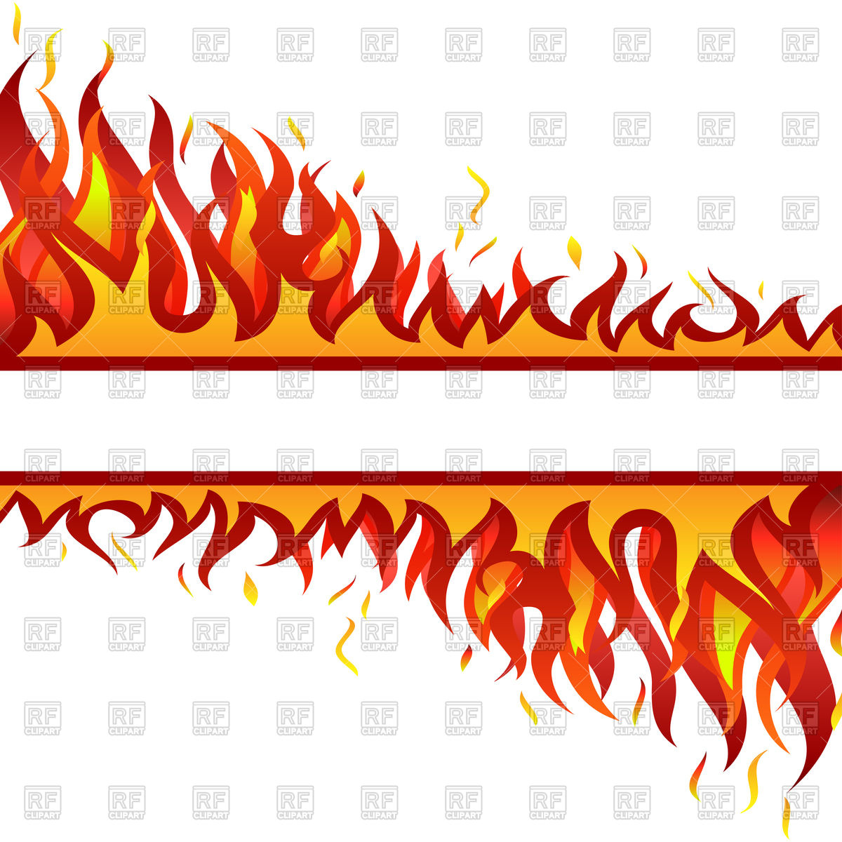 Inferno fire background Vector Image #93475.