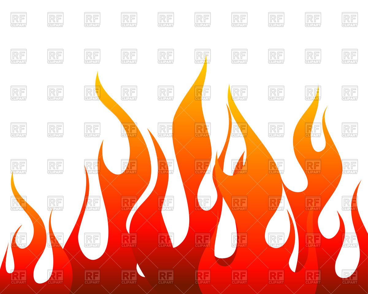 Inferno fire background Vector Image #93286.