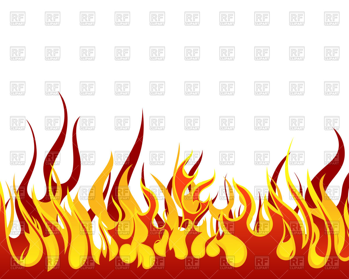 Inferno fire background Vector Image #93254.