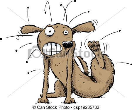 Dog flea Clipart and Stock Illustrations. 471 Dog flea vector EPS.