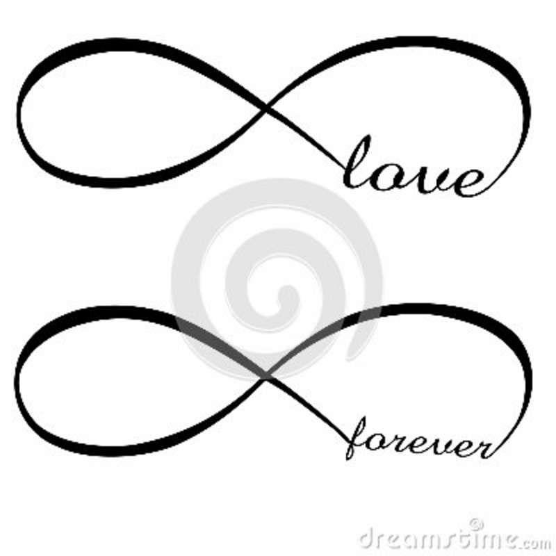 Teal Infinity Symbol Clip Art.
