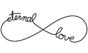 Infinity Love Symbol Clipart.