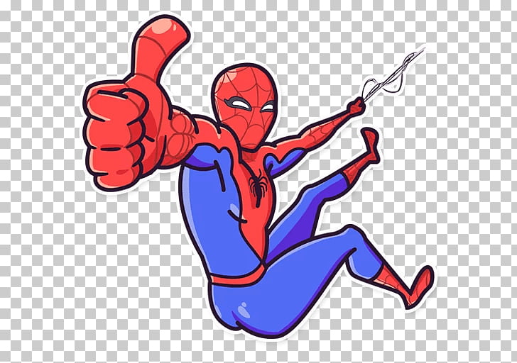 Telegram Sticker Avengers: Infinity War Spider.