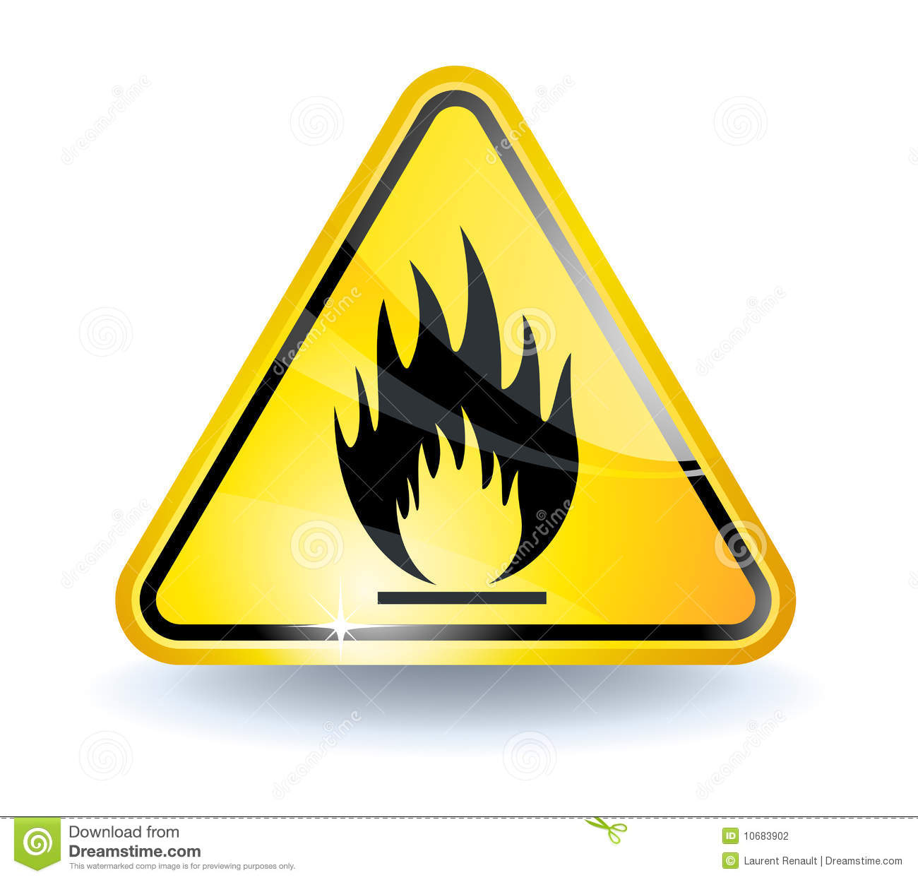 Inflammable Stock Illustrations.