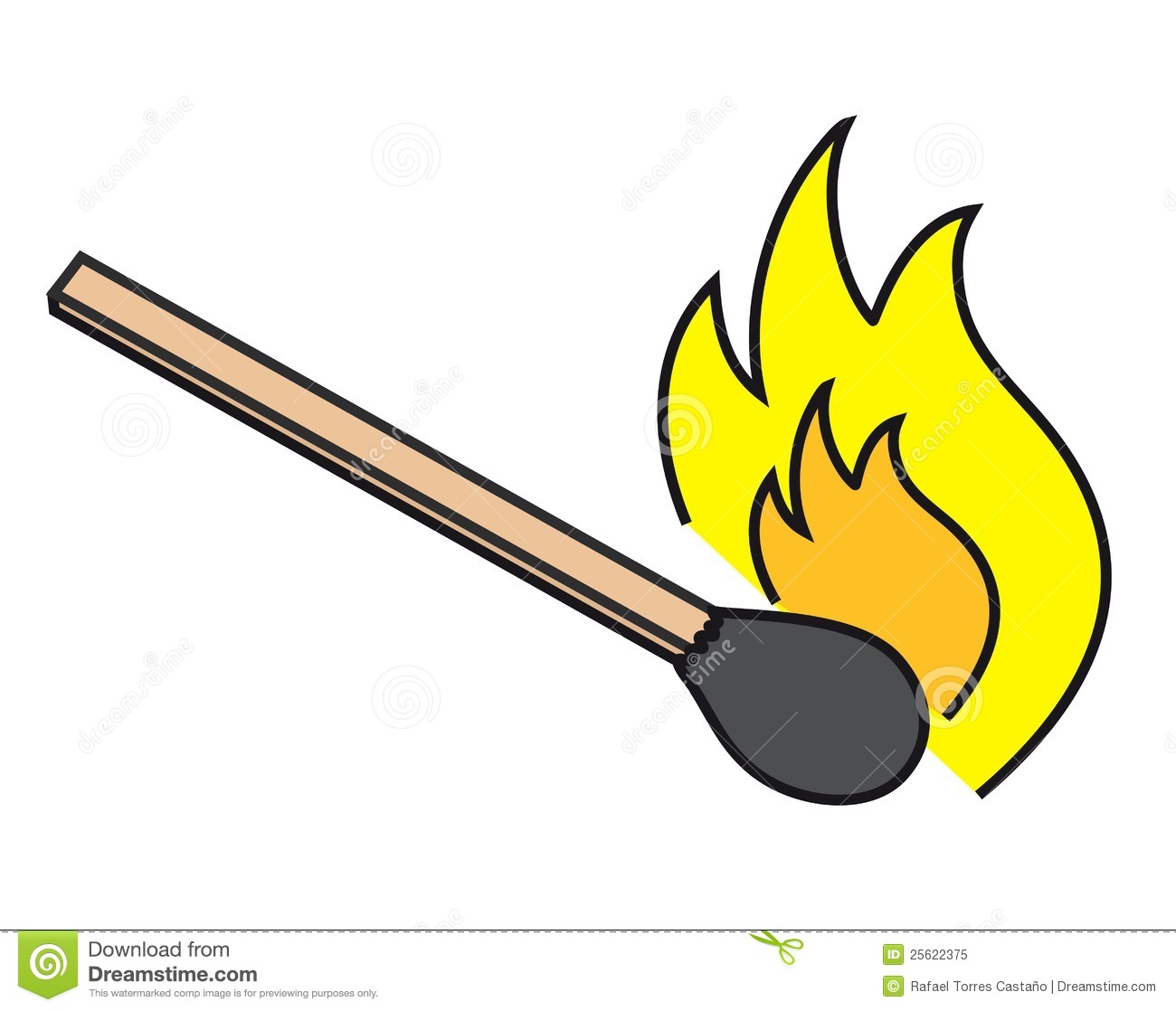 Inflammable Royalty Free Stock Photo.