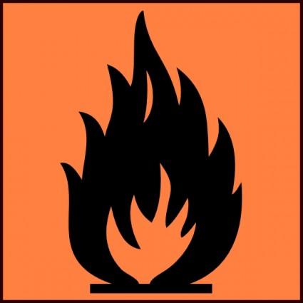 Flammable Clip Art Download.