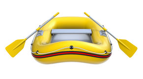 Rigid Inflatable Boat At A Pier Stock Photos.