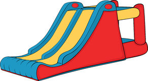 Inflatable Slide Clipart.