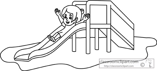 Slide Clipart Black And White.
