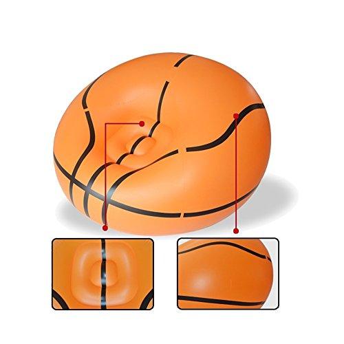 Inflatable Chair, Botitu® Large Cool Football and Basketball.