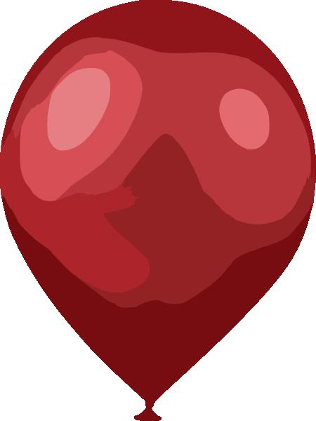 Red Balloon Clip Art at Clker.com.
