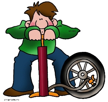 Showing post & media for Inflate tire pump cartoon.