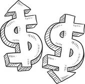 Inflation Rate Clip Art.
