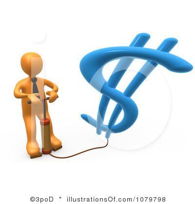 Inflation Clipart.