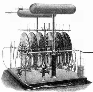 Levitationsmaschine.