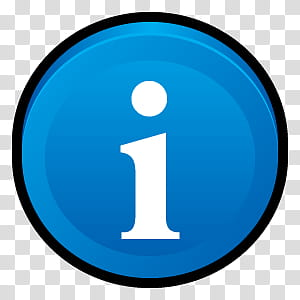 Sleek XP Basic Icons, Info, blue Information icon.