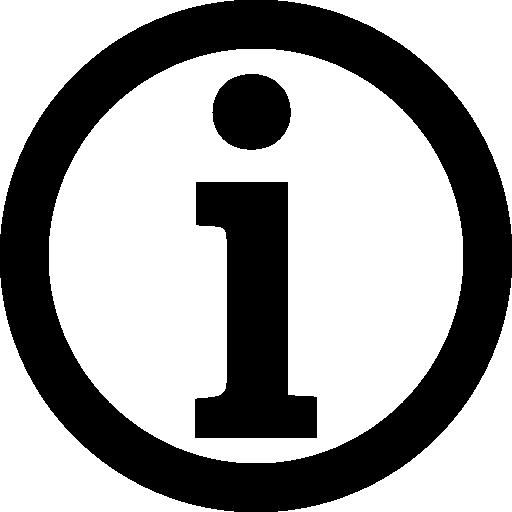 Info circle.