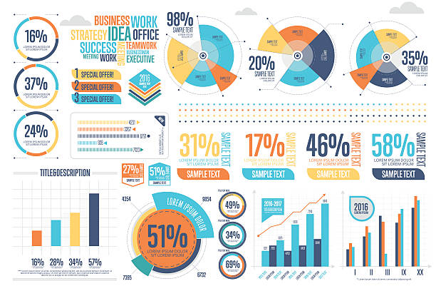Best Infographics Illustrations, Royalty.