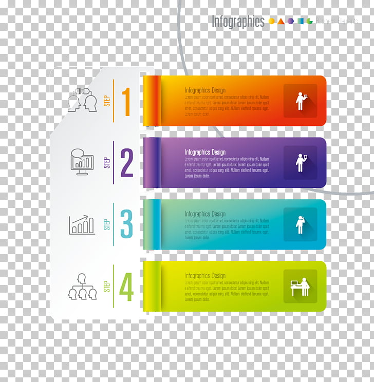 Infographic Chart, Beautiful 3D infographics design material.