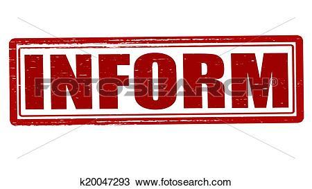 Clipart of Inform k20047293.
