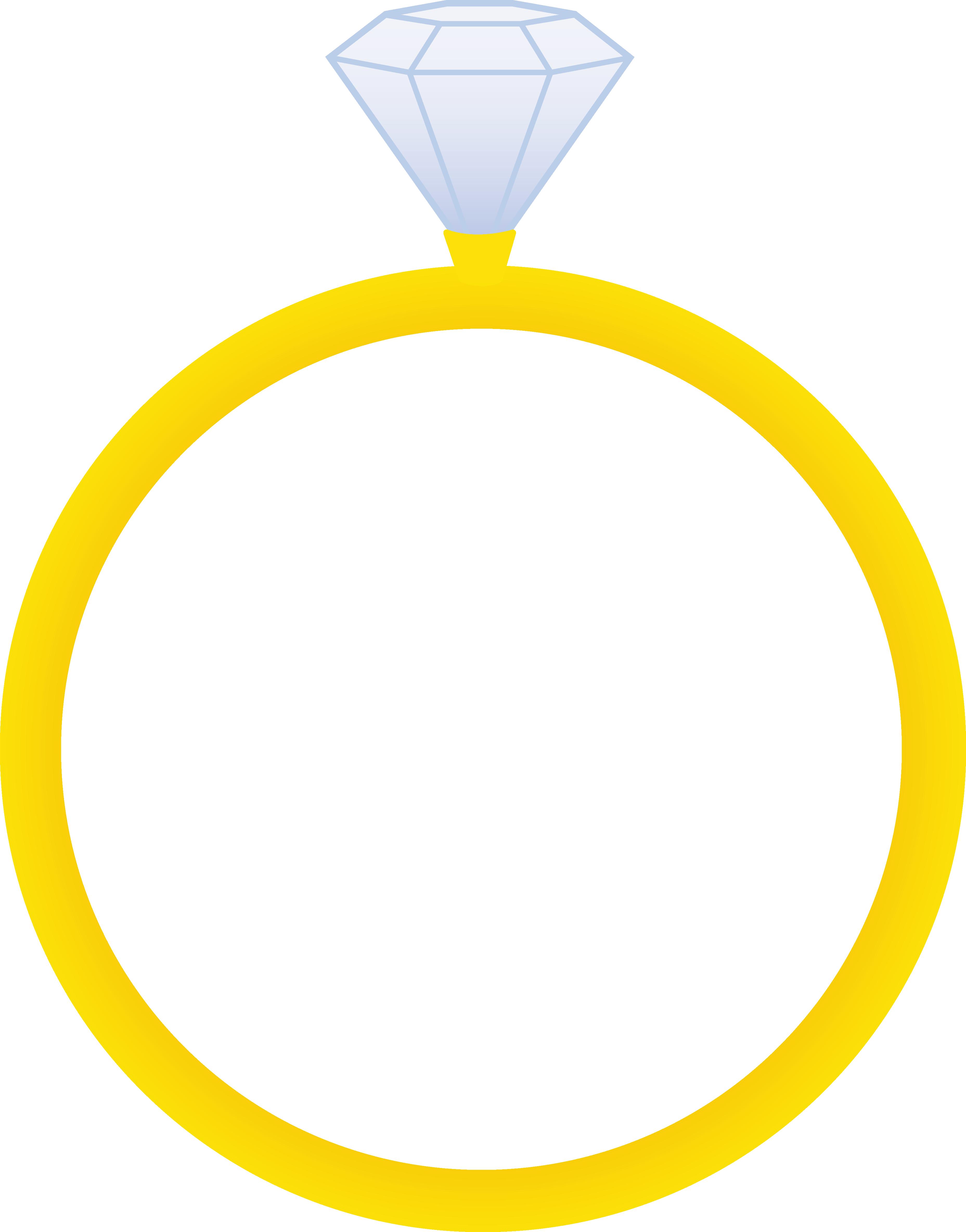 Diamond Wedding Ring Clipart.