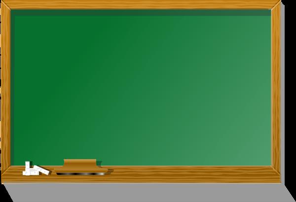 Black board medium 600pixel clipart, vector clip art.