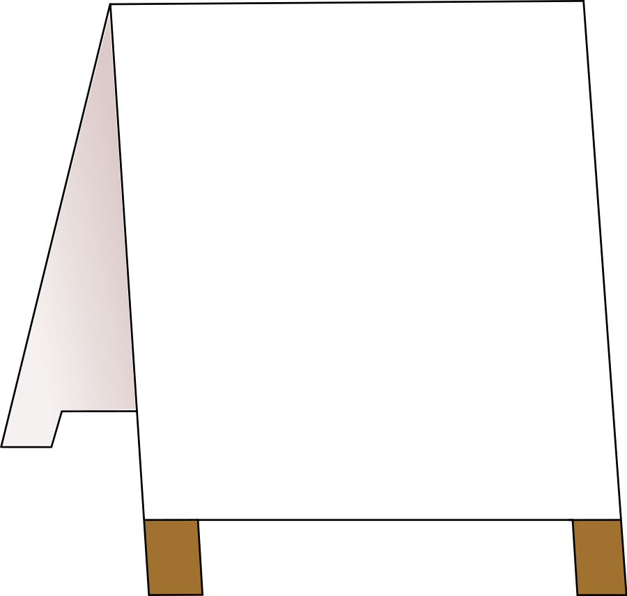 Ad board SVG Vector file, vector clip art svg file.