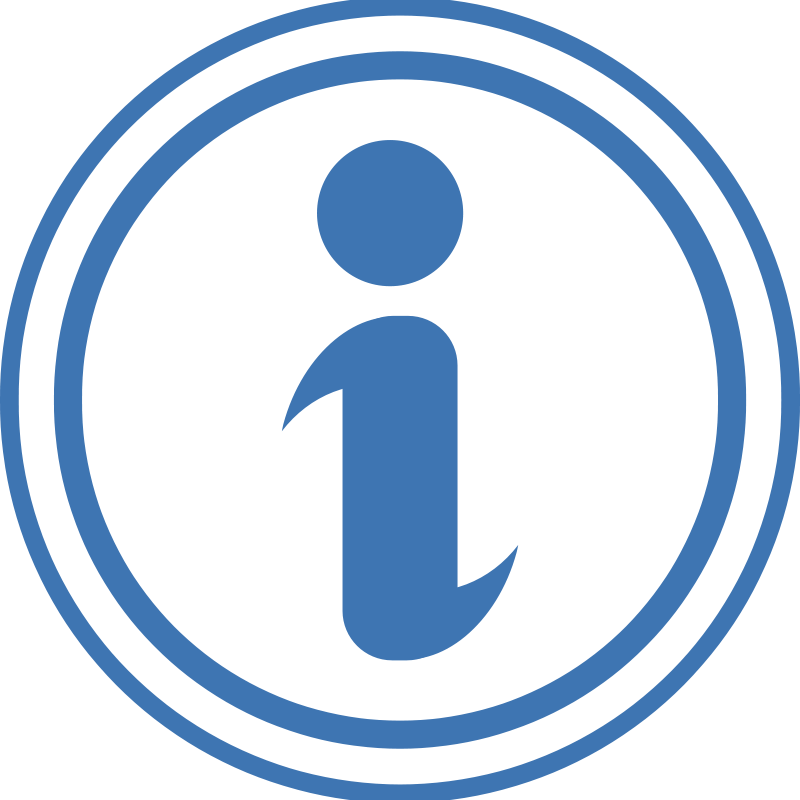 Free Clipart: Information Icon.